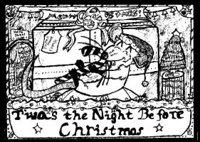 T'was the Night X-mas Card by DoOm-Wolf
