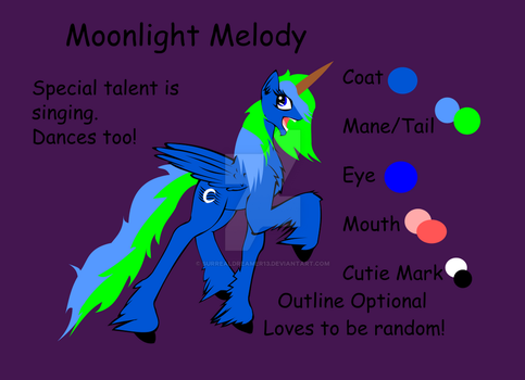 Moonlight Reference by SurrealDreamer13