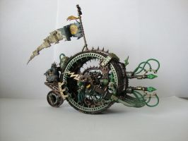 Warhammer Fantasy - Skaven Doomwheel Rivengnaw by Quiet-Lamp