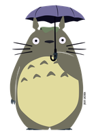 Totoro! by Julio-Lacerda