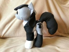 Zatanna custom pony plush by RighteousBabet