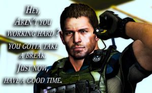 Message from Chris Redfield part 4 by PWheroCR
