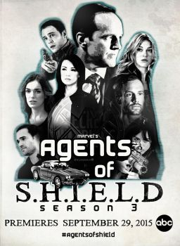 Agents of SHIELD Season 3 Poster by malshania