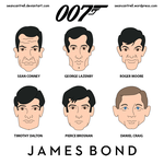 James Bonds by seancantrell