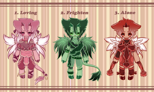 .:SPIRIT EGGS 2: HATCHED:. by GloryCat