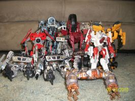 All my 1+2 movie transformers by blackout17