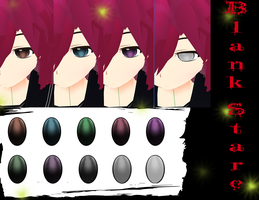 MMD Blank Stare Texture Pack by xxDraconikaxx