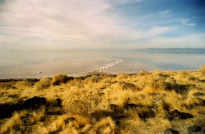 Spiral Jetty by commandax