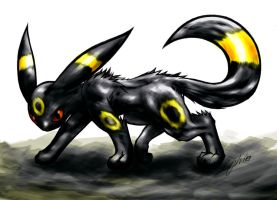 Umbreon by CaymArtworks