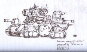 A ADV WARS DOODLE by NCH85