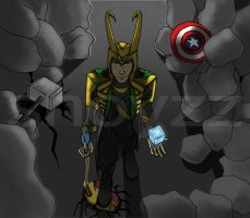 14. I Win - Loki by ShoyzzFanArt