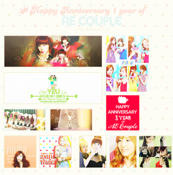 HAPPY ANNIVERSARY 1 YEAR OF AE COUPLE by 022912