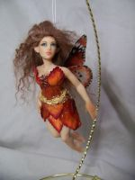 'Jacinth' ooak flying fairy by AmandaKathryn