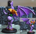 Finished Succubus Miniature by A-Fraser