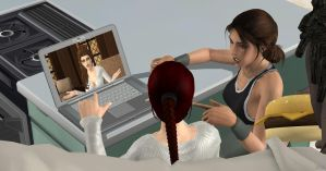 What is attractive to Lara by DoppieCroft