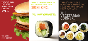 Sample Food Advertisements by shortdesigns-x