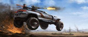 Assault Truck by kryoth