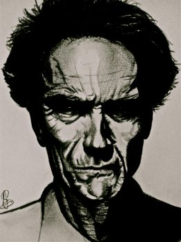 clint eastwood by willwoosharon