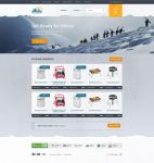 Outdoor e-commerce by F-l-a-g