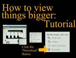 If My Tutorial Is Too Small by divby0