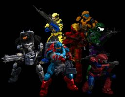 Halo Reach Goes Marvel by Rene-L