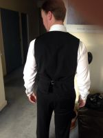 Waistcoat commission - back by katerlin