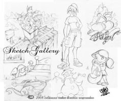 sketch gallery by celaoxxx
