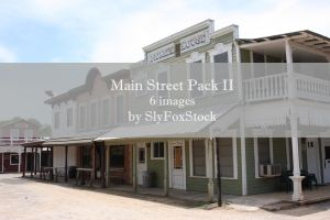 Main Street Pack II by SlyFoxStock