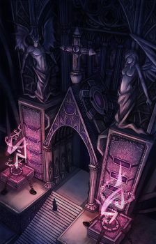 -+ Cathedral +- by Kaizeru