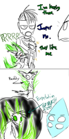Walking City character interactions by Catmaniac8x