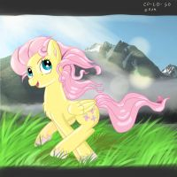 Fluttershy ,morning Jogging by CO--CO-SO
