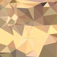 Flavescent Yellow Abstract Low Polygon Background by apatrimonio