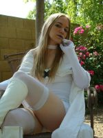 Emma Frost: The Queen's Throne by AmaraSama