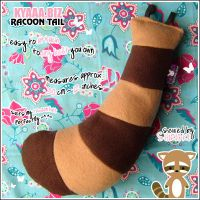 kyaaa.biz Racoon Tail by shiricki