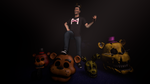The King of Five nights at Freddy's by ThePuppet1987