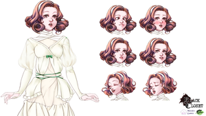 Mallory Character Sheet by Renmiou