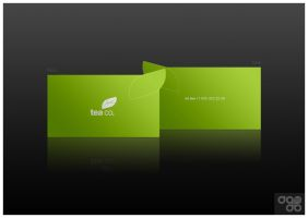 teaco business card by dado-design