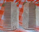 Celtic wooden comb by Woltus