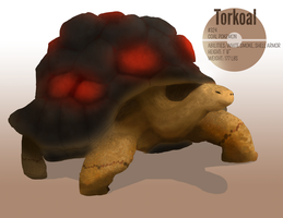 Torkoal by werefrog
