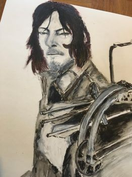 In process - Daryl [3] by MlleChouette