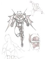 Batman Redesign Version 2 WIP by DomiNYcanKnyght