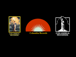 Columbia Records Logo Variants by MrAngryDog