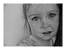 Those Baby Blue Eyes (Graphite) by LonnyClouser
