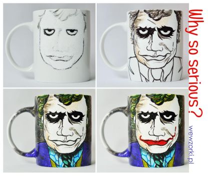 Joker Mug in 4 steps by smist