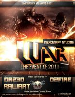 WAR....The Event by mestophales