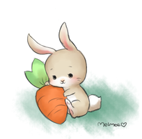 Bunny by Melmee