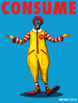 the-REAL-Ronald-McDonald---THEY-LIVE--Hal-Hefner by HalHefnerART