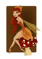 Pin-Up 4 of Diamonds Faerie by KCretcher