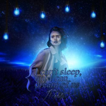 Dream of us  Lily Collins by Jess104