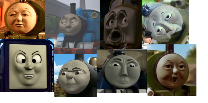 these faces are perfect XD by ButtonmashMC